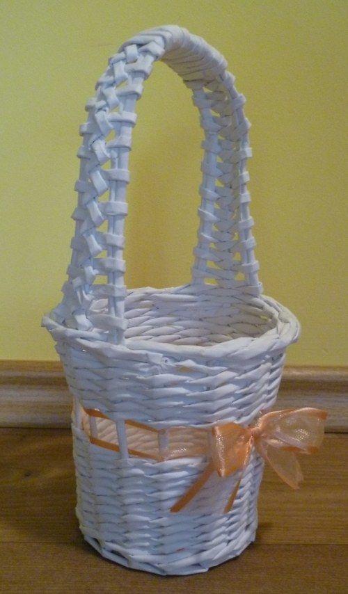 Košíček pro družičky - ladí s košíčkem na vývazky