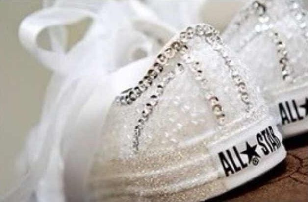 Converse Wedding - Cute and comfy :)