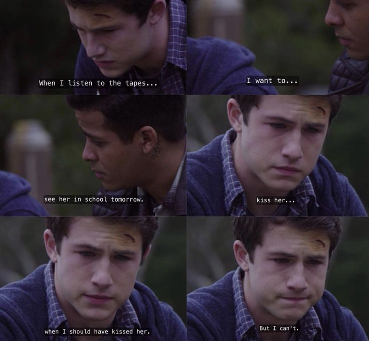 Dylan Minnette as Clay Jensen in 13 Reasons Why