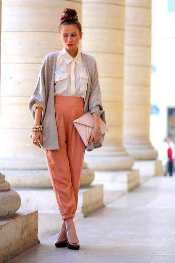 Zara Cardigan, H Trousers