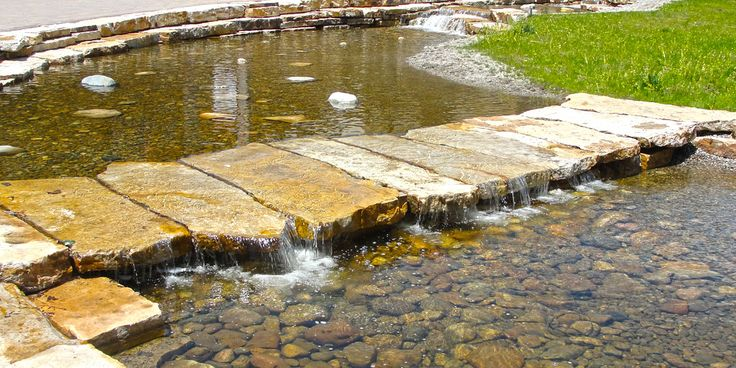 Low water crossing at Steamboat base area - Wenk Associates