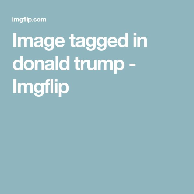 Image tagged in donald trump - Imgflip