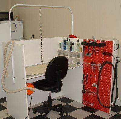 Groomers BBS: Home made grooming table