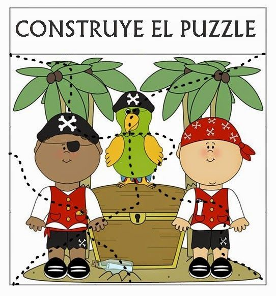 Para trabajar los contenidos educativos en torno a la temática PIRATA diseñamos distintos materiales para utilizar en los rincones de aprend...