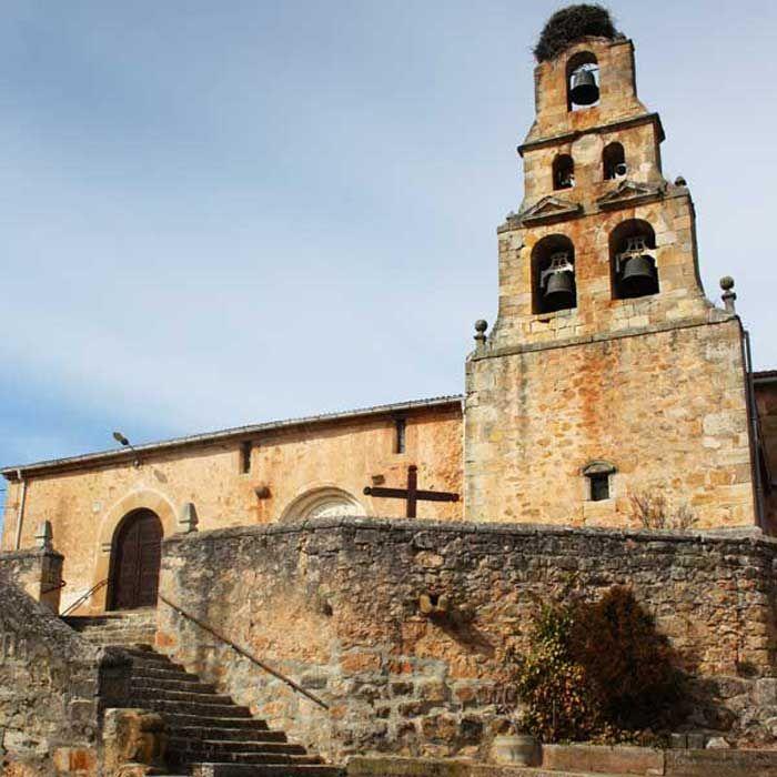 Iglesia de S. Miguel Arcángel en Talveila. | Iglesia, Edificios ...