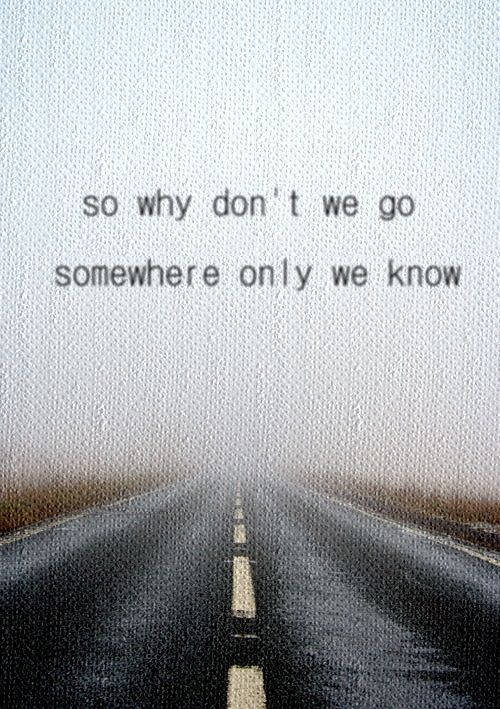 keane//somewhere only we know