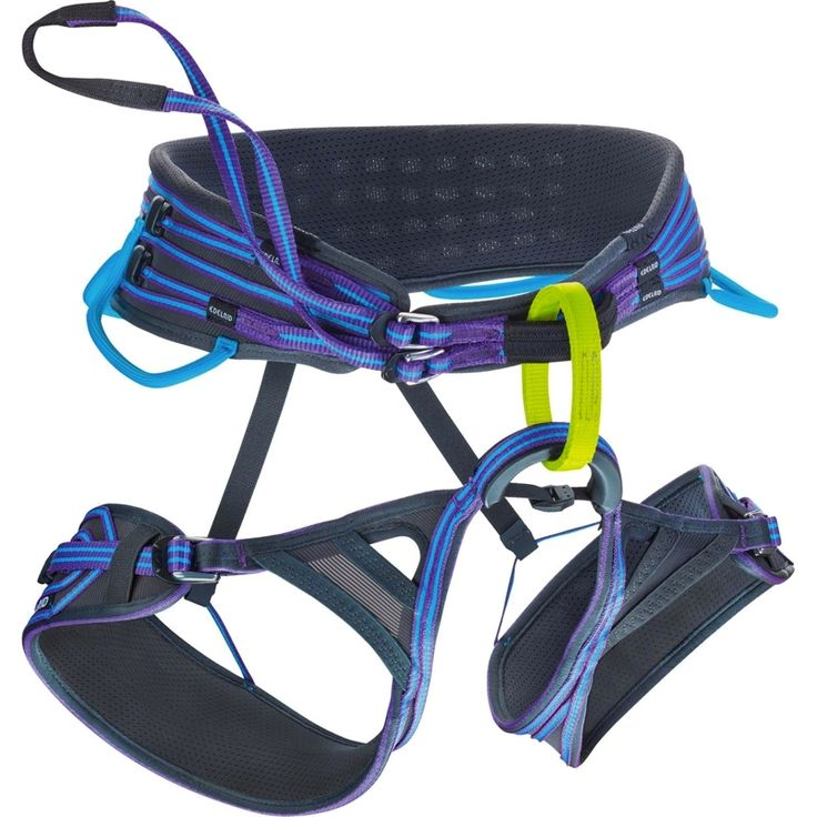 Edelrid Solaris Harness | 3D-Vent women's harness. | at www.weighmyrack.com/ #rock #climbing #gear