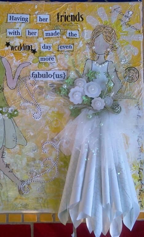 Prima doll bride - LOVE the skirt!