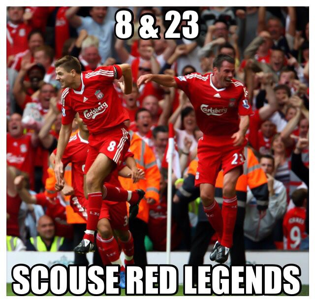 @carra23 @gerrard8fanpage Scouse Red Legends #LFC #Carra #StevieG