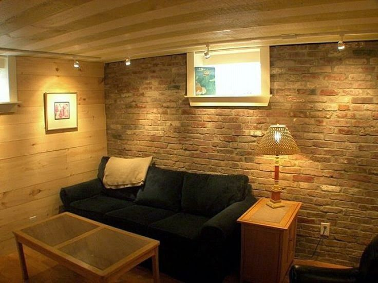 very low ceiling basement idea - Google Search