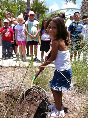 Naples Botanical Gardens--hours of fun for kids and parents in Naples, Florida.