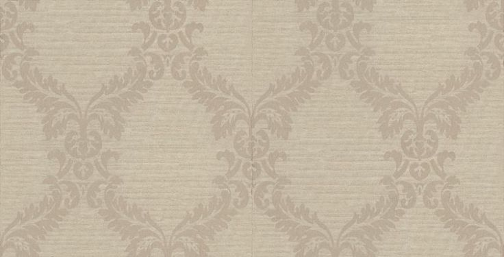 Albany Luna (FD66512) - Albany Wallpapers - A beautiful floral damask trail on a horizontal stripe background and metallic highlights. Showing in silver and gold on pale green. Other colour ways available. Please request a sample for true colour match. Paste-the-wall products.
