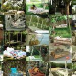 30 Ιδέες για κρεβάτι με ξύλινες παλέτες στον κήπο. Pallet outdoor beds περισσότερα στο : http://www.helppost.gr/how-to/paletes/outdoor-beds-ideas-pallets/