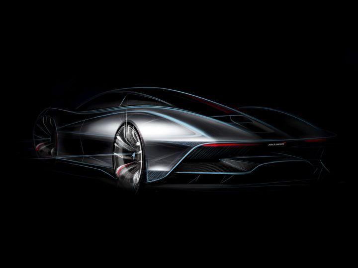 McLaren Hyper-GT: new design sketches