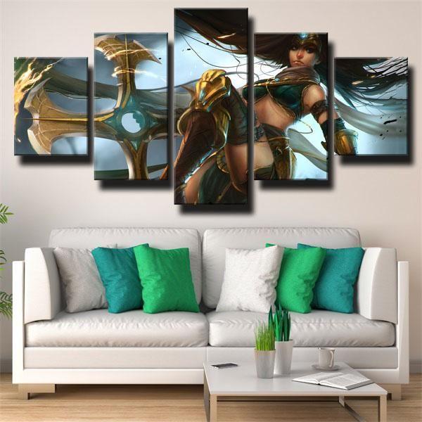 Dota 2 Medusa Gaming Wall Art Canvas Art Wall Decor Wall Art Canvas Prints
