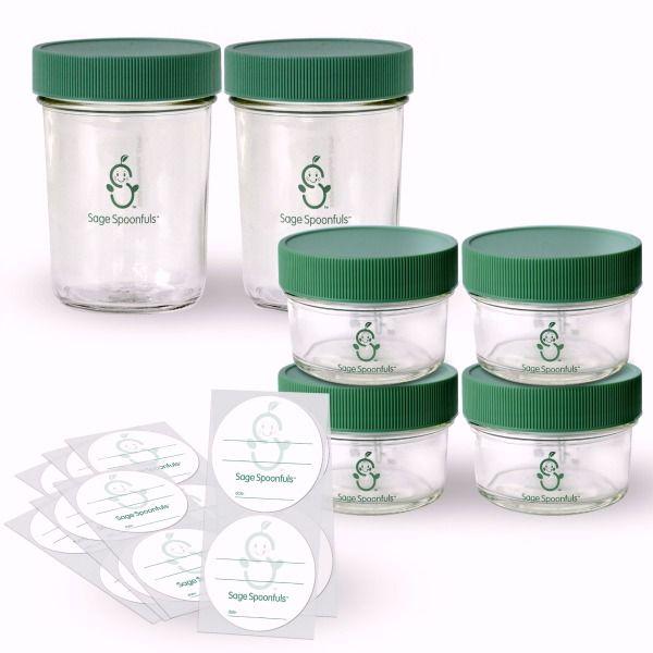 Make In Bulk Kit Baby Food Storage How To Make Baby Food Recipes