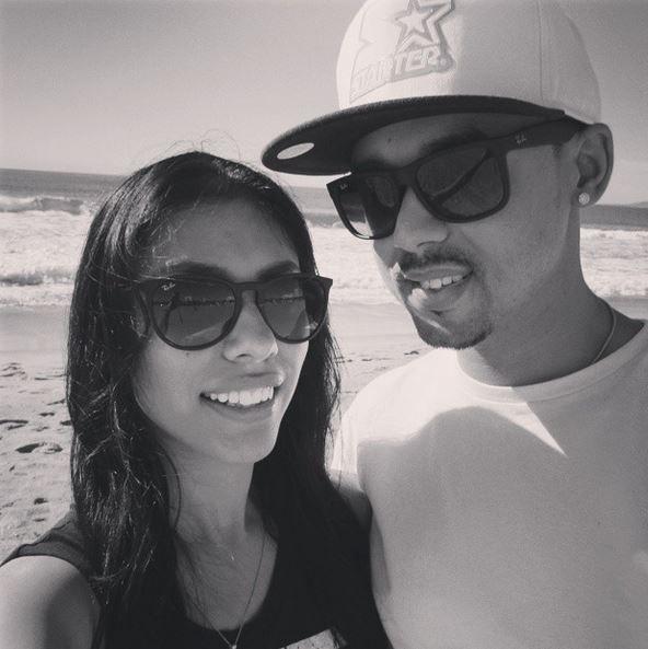 (B&W) Biggs87x & ZaiLetsPlay - Ricky & Zai at Santa Monica Pier (via Instagram)◀ #YouTubers #Gaming #Gamers