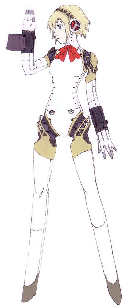 Aigis Concept - Characters & Art - Shin Megami Tensei: Persona 3