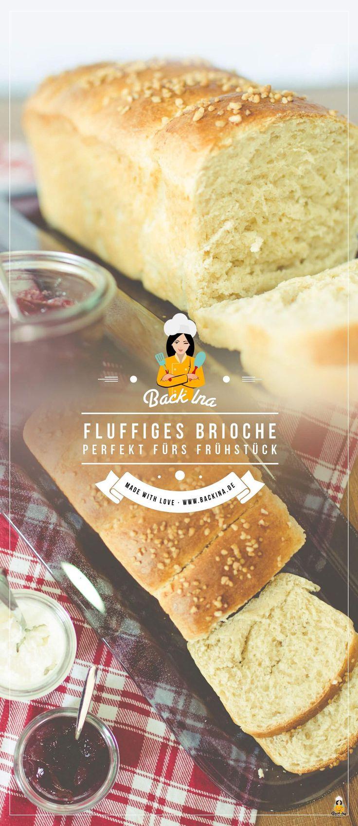 Du suchst ein Brioche Rezept? Dieses einfache Rezept für das französische Hefegebäck eignet sich gut als Osterbrot oder leckeres Hefegebäck zum Frühstück! Erfahre hier, wie du Brioche selber machen kannst!   BackIna.de