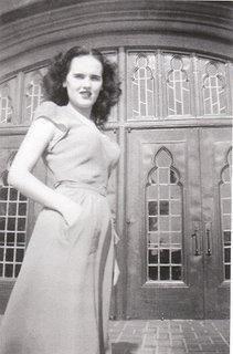 Elizabeth Short, the Black Dahlia murder victim.