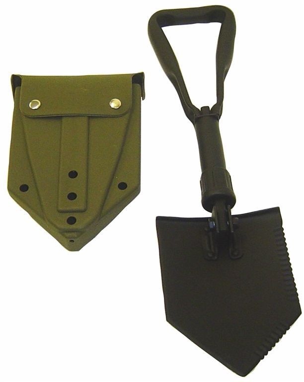 E-TOOL, FOLDING, WITH CARRIER