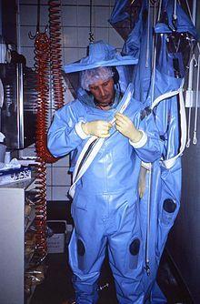 Positive pressure personnel suit - Wikipedia