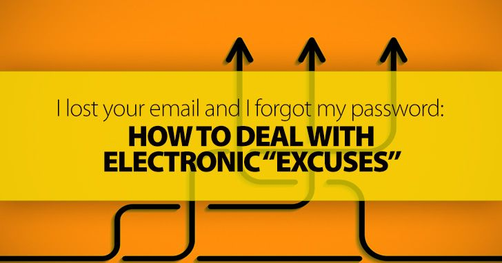 """Turnitin Isn't Working, I Lost Your Email, and I Forgot My Password: Dealing with Electronic """"Excuses"""""""