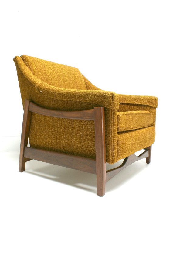 The 50s 60s vintage paoli rocking chair mid century danish for Designer chairs from the 60s