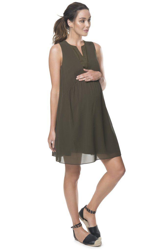 Fashion forward maternity rental dress