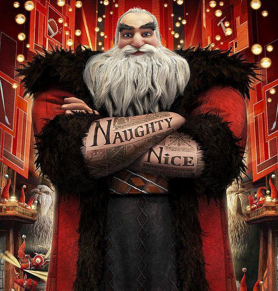 Rise of the Guardians - Santa Claus. Coolest depiction of Santa.