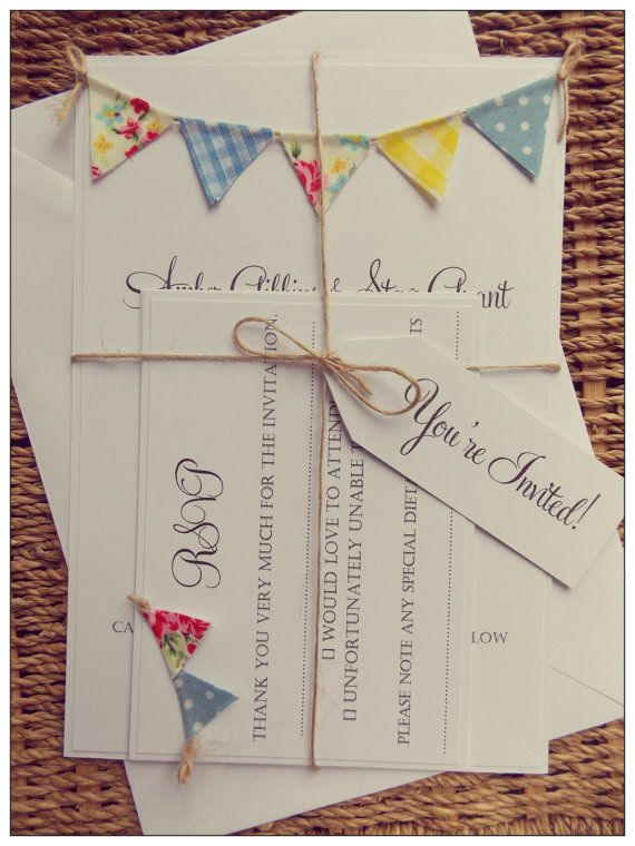 A spring fair theme wedding