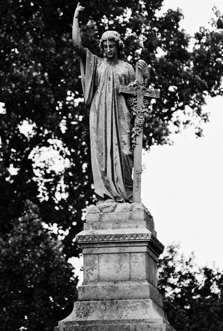Monument Hill-Sweet Briar College, BWF 5 - Guardian of the Graveyard by baiken.deviantart.com