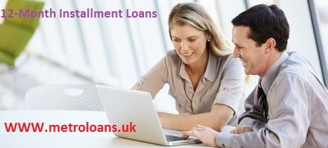 Metro Loans is a trustworthy online credit lending company in the UK, presenting a real-time deal on 12-month installment loans. We are providing these loans on extremely competitive interest rates and repayment options, which will be as per the financial requirement of an individual. At Metro Loans, we present these 12-month installment loans through a simple and straightforward application procedure in which no faxing of documents is required. The loan aspirants just need to come online…