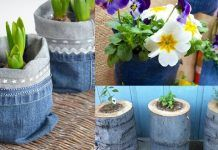 13 DIY Jeans Uses In The Garden