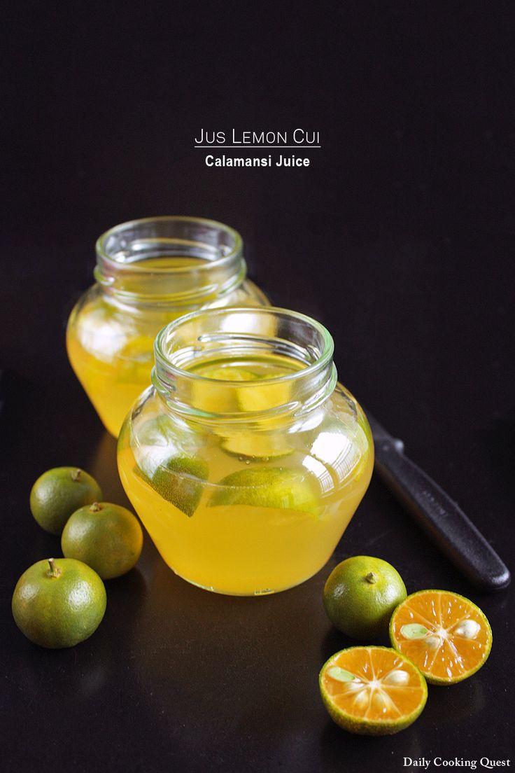 Jus Lemon Cui – Calamansi Juice