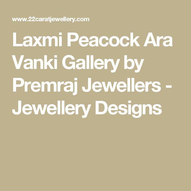 Laxmi Peacock Ara Vanki Gallery by Premraj Jewellers - Jewellery Designs