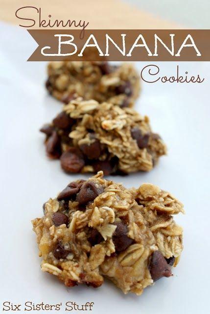 Skinny Banana Cookies recipe