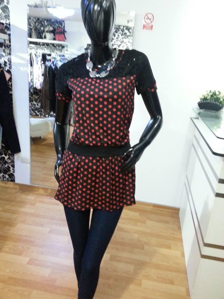 Lindo vestido blusa  www.vestidosyahalom.com