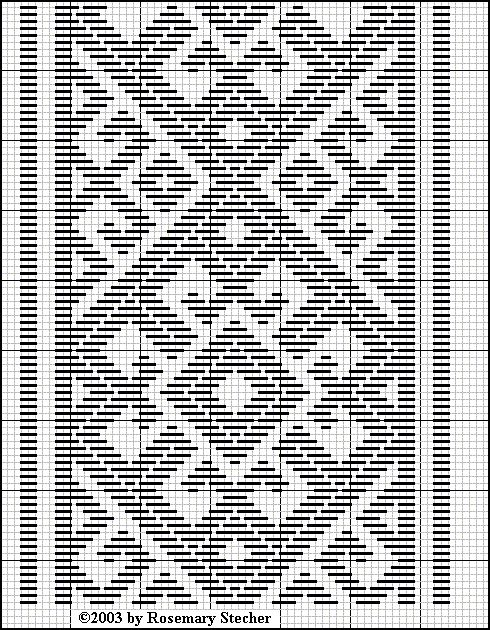 Pattern Darning Charts - Medieval Egyptian Counted-Thread Embroidery