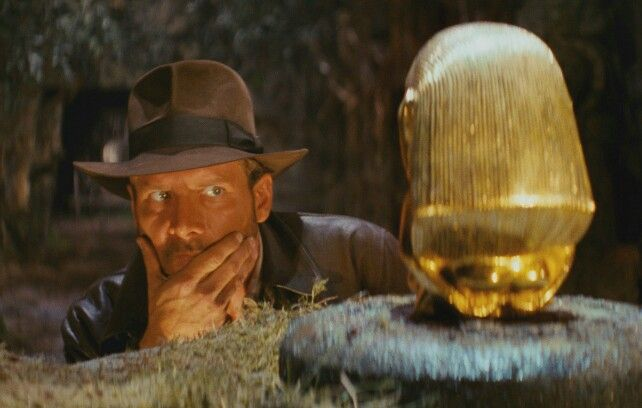 Indiana Jones in Raiders of the Lost Ark (1981)