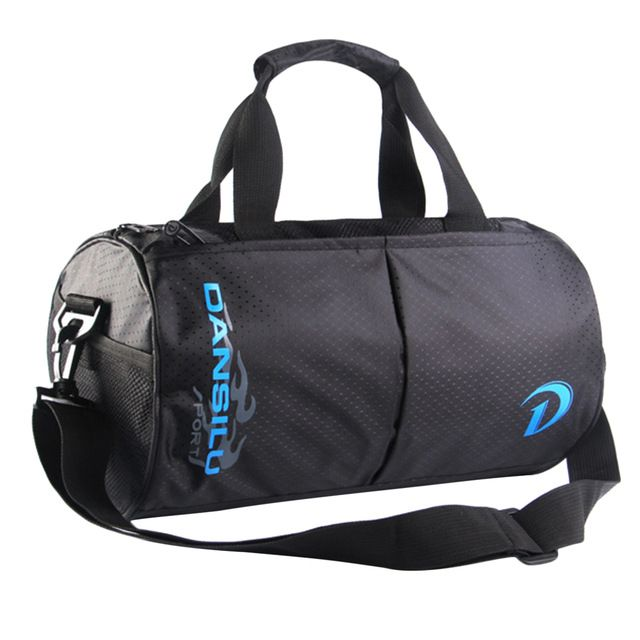 Check lastest price 2017 New Nylon Sports Bag Men Gym Bag Hand Shoulder Take Large Space for Travel Use Cylinder Luggage Shape just only $17.27 with free shipping worldwide  #sportsbags Plese click on picture to see our special price for you