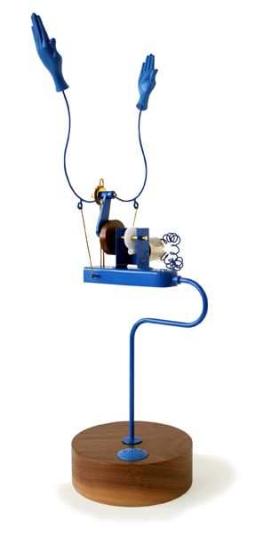 Applause Machine (Meccano Blue) by Martin Smith for Laikingland