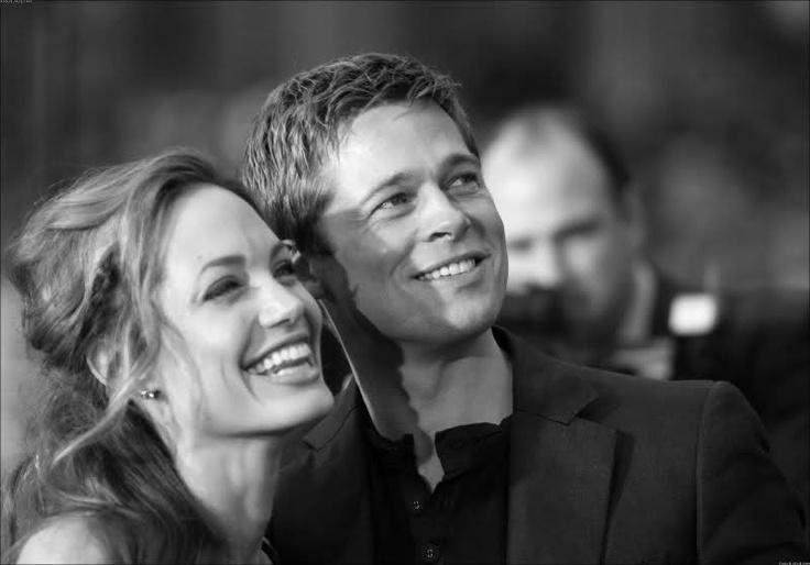 <3 Brad Pitt and Angelina Jolie