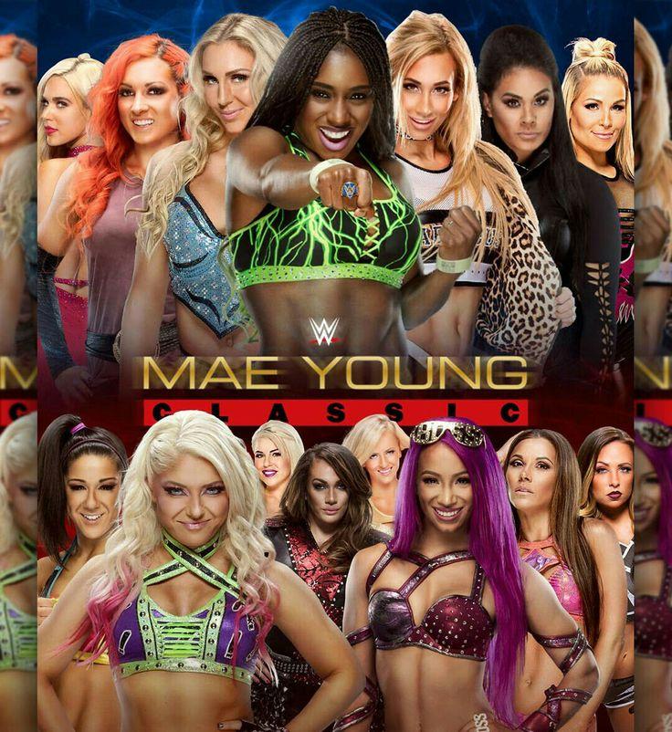 Mae Young Classic Lana Becky Lynch Charlotte Naomi Carmella Tamina Natalya Bayley Alexa Bliss Dana Brooke Nia Jax Summer Rae Sasha Banks Mickie James & Emma