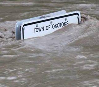 Okotoks Alberta Canada | flooded June 2013