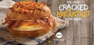 Einstein Bros.Farmhouse Bagel Sandwich