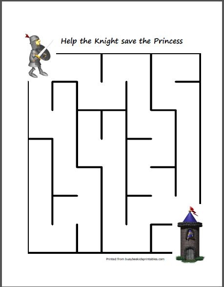Free Medieval Mazes different