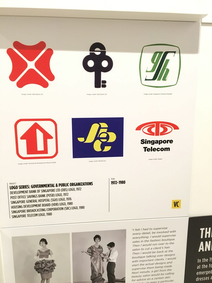These logos of newly established companies in Singapore namely, POSB, DBS, HDB, Singapore Telecoms (now known as Singtel), were the recognisable few of the many corporations that entered Singapore, which saw Singapore emerge as an economic powerhouse during its economic boom.