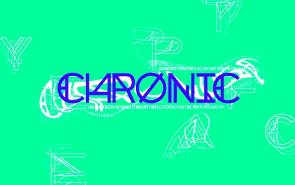 Designed by Jose Garrido at the Noem 9 studio, Chronic is inspired by Native American geometry and legends. Pro Tip: Due to its busy glyphs, the font won't work for body copy, but displays stunningly as headlines and at large sizes, such as for designing posters, logos, and T-shirts.
