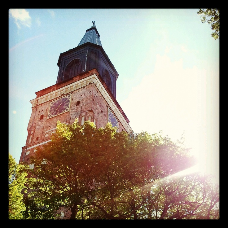 Cathedral in Turku, Finland